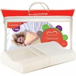Подушка с эффектом памяти LumF-500. 30х48 см. Валики 7 и 10 см