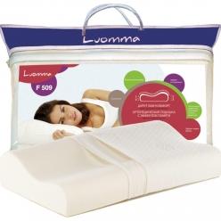 Подушка с эффектом памяти LumF-509. 35х55 см. Валики 12 и 14 см
