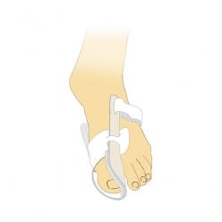 Бандаж отводящий для большого пальца стопы Тривес УТГ Т-01