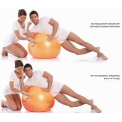Мяч гимнастический 65см с ABS Тривес М-265